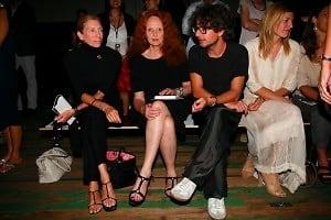 Tonne Goodman, Grace Coddington, Virgina Smith
