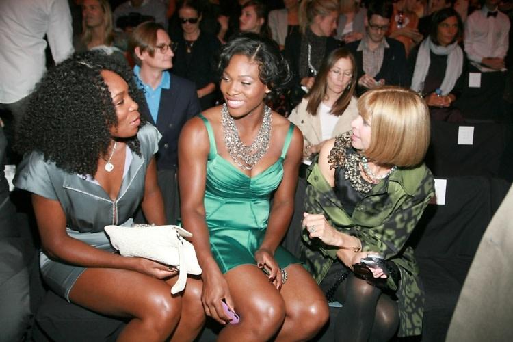 Venus Williams, Serena Williams, Anna Wintour