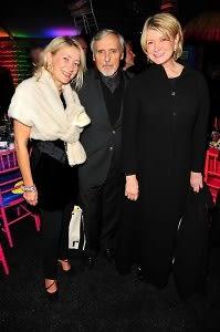 Janna Bullock, Dennis Hopper, Martha Stewart