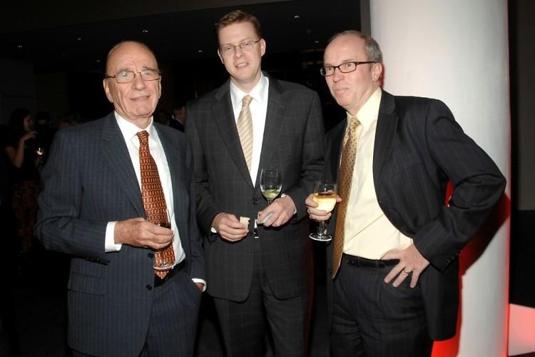 Rupert Murdoch, Todd Larson, Alan Murray