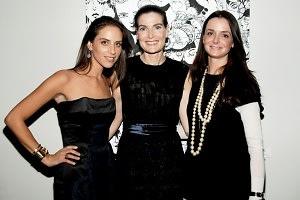 Dalia Oberlander, Jennifer Creel, Annie Churchill (All Wearing Kwiat Diamonds)