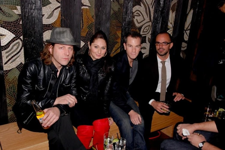 Erik Johnson, Ina Goldstein, Josh Reed and Marko Kalfa