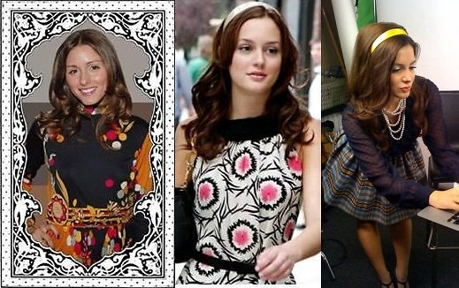 Is that Olivia Palermo, Blair Waldorf, or Julia Allison?