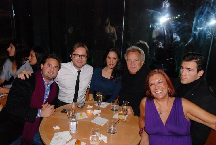 Maurizio Winkler, Alexandra Dilolli, Paula Gupta, Massimo, Mario Lucean and Carmen D'Alessio