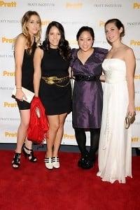 Melanie Miracolo, Elizabeth Vallenilla, Olivia Choi, Megan Jones