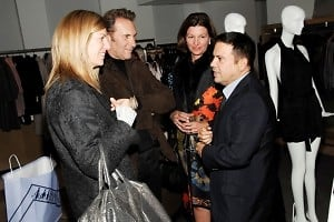 Virginia Smith, Hal Rubenstein, Cindy Weber Cleary, Narciso Rodriguez