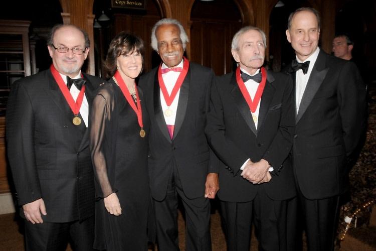 Salman Rushdie, Nora Ephron, Ashley Bryan, Edward Albee, Paul LeClerc