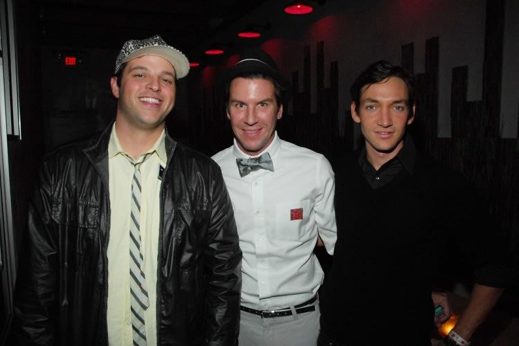Daniel Franzese, Peter Davis, Thomas Whiteside