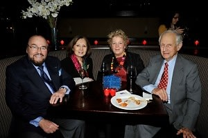 James Lipton, Kedakai Lipton, Lucinda Franks, Robert M. Morgenthau