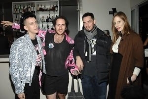 Jeremy Scott, Mark Cobrasnake, DJ AM, Liz Goldwyn