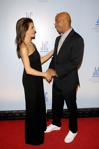 Samantha Harris, Russell Simmons