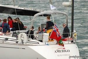 The Crew Aboard Amerigo