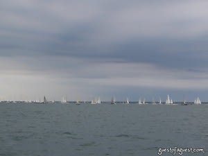 Hyannis Yacht Club Prepares to Fire the Starting Signal
