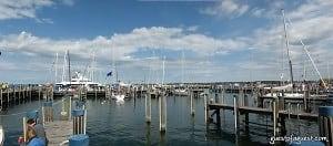 Town Docks Start to Slowly Fill In
