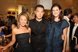 Alina Cho, Jim Shi, Lydia Fenet