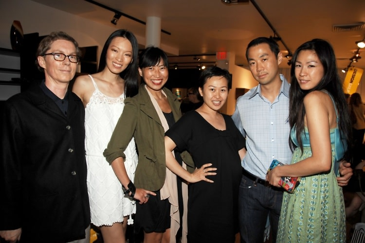 Christopher Phillips, Ling, Sally Woo, Nicky Chang, Shoko Chang