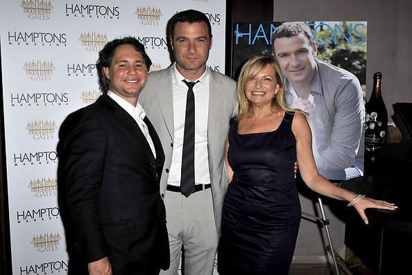 Jason Binn, Liev Schreiber, Debra Halpert