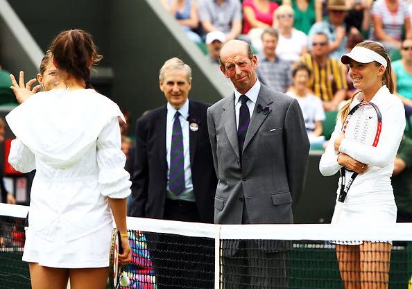Laura Robson, Duke of Kent, Daniela Hantuchova