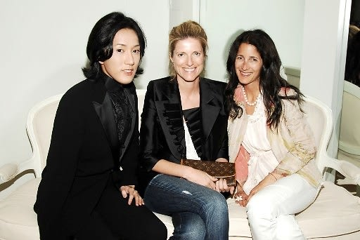 Cho Cheng, Lucy Sykes Rellie, Amanda Ross