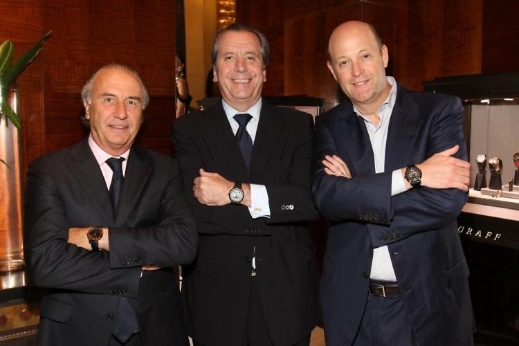 Michel Pittelouz, Henri Barguirdjian, Kirk Posmantur