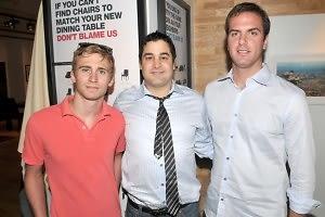 Joey Ranzenbach, Sam Hamadeh, Chris McGovern