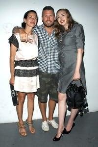 Cynthia Rowley, Bill Powers, Rachel Feinstein