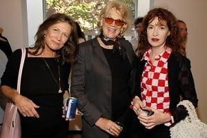 Diane Blell, Judy Auchincloss, Ena Swansea