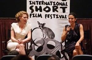 Scarlett Johansson, Courtney Cox