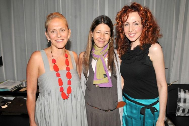Angel Zimick, Sally Randall Brunger, Nancy Bacich