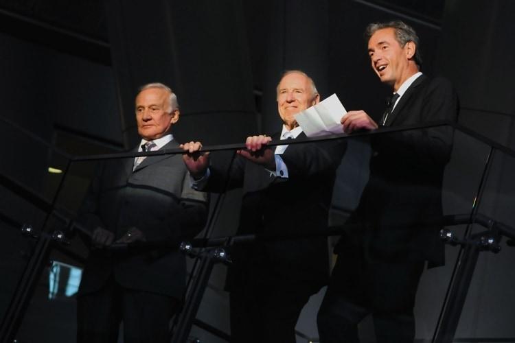 Buzz Aldrin, Jim Lovell, Daniel Lalonde