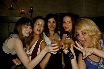 Emily Hannett, Stefanie Vuotto, Eugenia Chahda, Jenn Shaffran, Michelle McKelvey