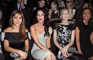 Elsa Pataky, Megan Fox, Cate Blanchett, Roberta Armani