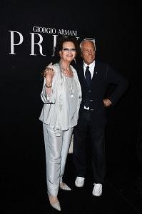 Claudia Cardinale, Giorgio Armani