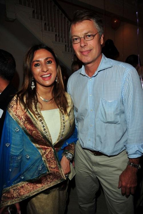 Meera Gandhi, Richard Johnson