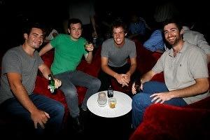 Michael Faisca, Ben Smith, Neil Janowitz, Scott Rogowski