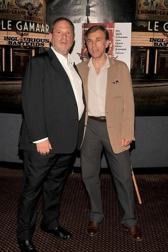 Harvey Weinstein, Christoph Waltz