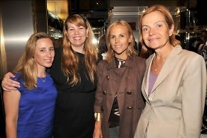 Bobbi Rebell Kaufman, Allison Weiss Brady, Tory Burch, Lee Spelman Doty