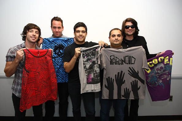 Matt Rubano, Mark O'Connell, Matthew Fazzi, Eddie Reyes, Adam Lazzara
