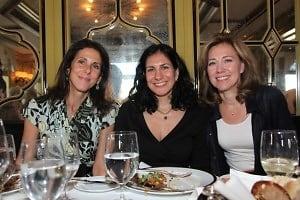 Judy Poller, Audra Zuckerman, Silda Wall Spitzer