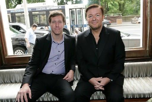 Matthew Robinson, Ricky Gervais