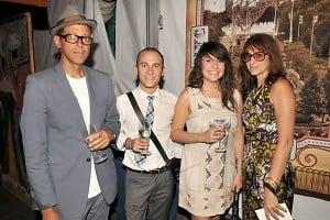 Ricardo de Olivira, Justin Harter, Amanda Gabriele, Robin de Olivira