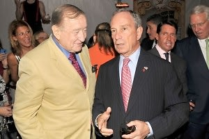 Sirio Maccioni, Mayor Michael Bloomberg