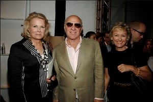 Candice Bergen, Barry Diller, Tina Brown