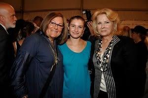 Fern Mallis, Chloe Mallis, Candice Bergen