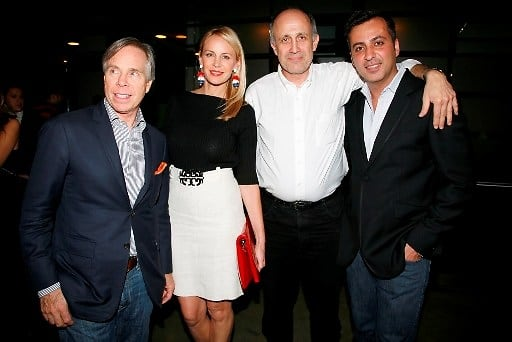 Tommy Hilfiger, Dee Ocleppo, Ludwig Haskins, Mazdack Rassi