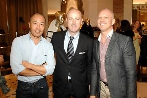 Derek Lam, Peter Tanenbaum, Lincoln Moore