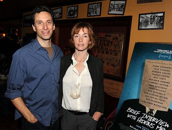 Ben Shenkman and Julianne Nicholson