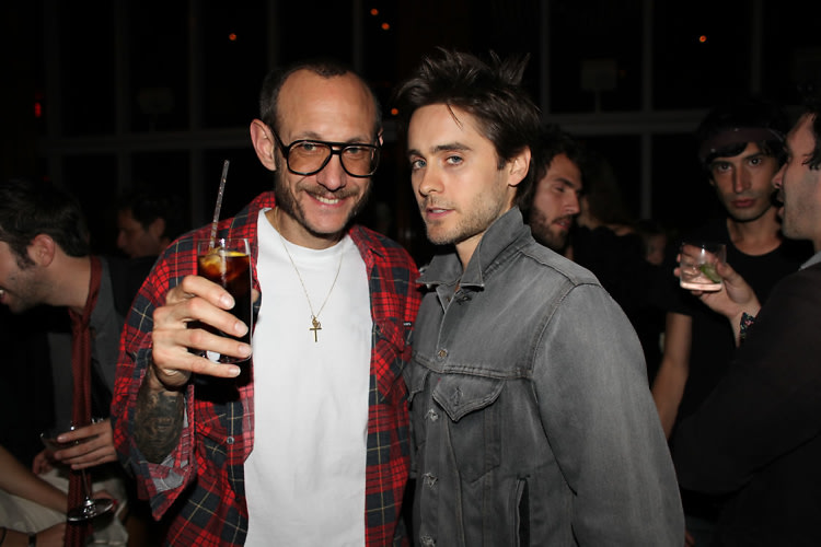 Terry Richardson, Jared Leto
