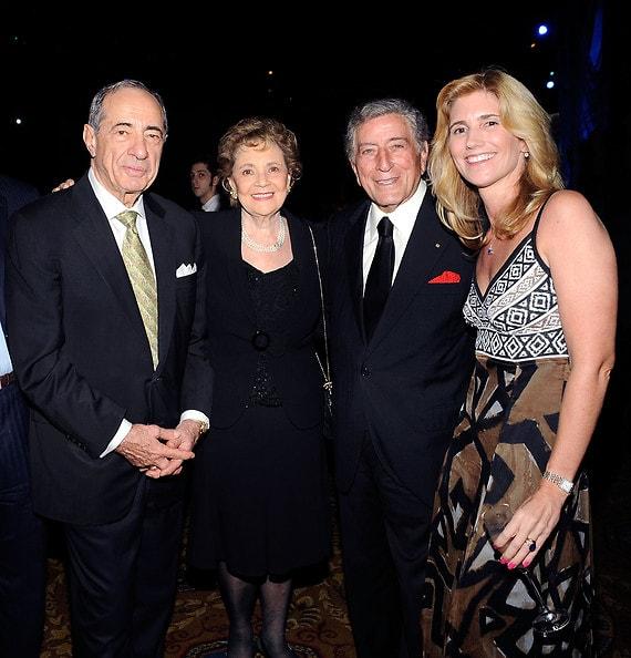 Mario Cuomo, Matilda Cuomo, Tony Bennett, Susan Benedetto