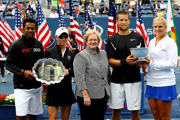 Leander Paes, Cara Black, Travis Parrott, Carly Gullickson